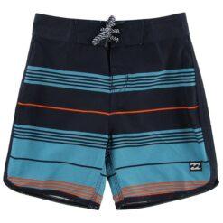 Billabong Badeshorts - 73 Stripe - Navy/Orange