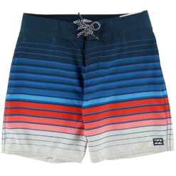 Billabong Badeshorts - All Day Stripe - Navy m. Striber