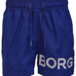 Björn Borg Badeshorts - Karim - Blå m. Logo