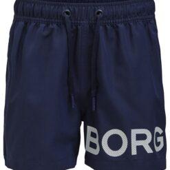 Björn Borg Badeshorts - Karim - Navy m. Logo