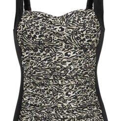 Cellbes Tankini Leopard Sort