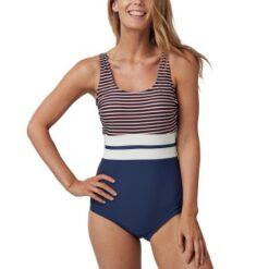 Abecita Retro Navy Swimsuit * Gratis Fragt *