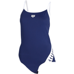 Arena - Team Stripe Super Fly Back Badedragt - Navy