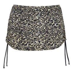 Cellbes Bikininederdel Leopard Sort