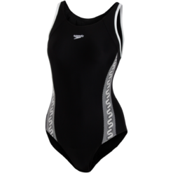 Speedo - Monogram Muscleback - Sort
