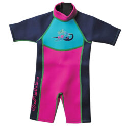 Splash About Shortie Wetsuit Surf pink