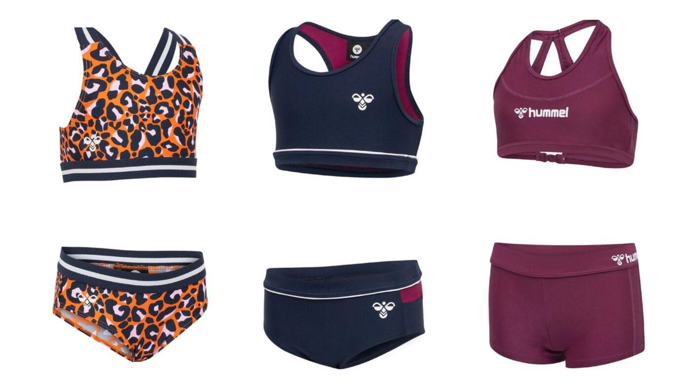 hummel bikini barn hummel bikini pige sporty bikini leopard bikini