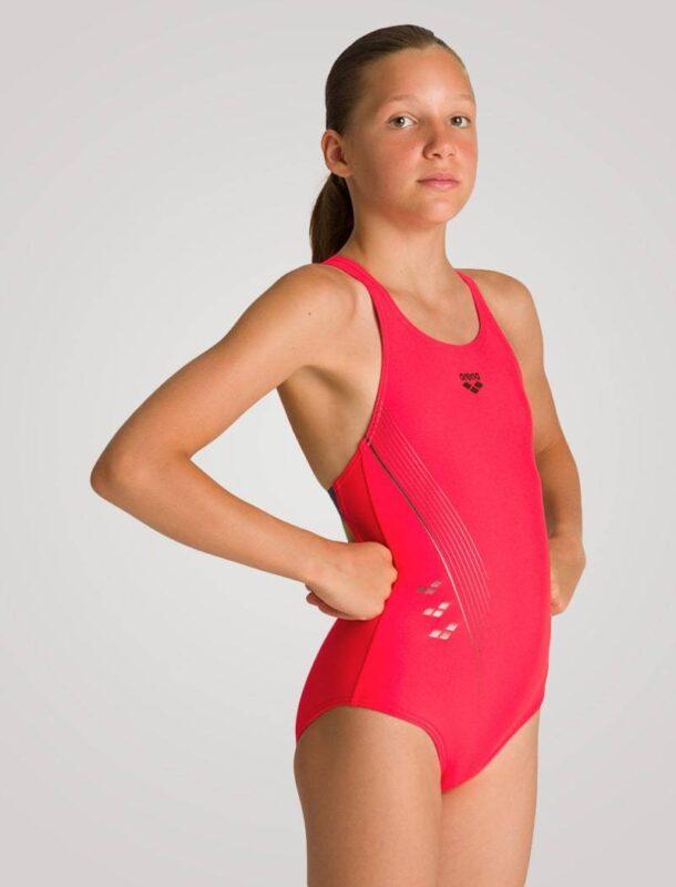 rød badedragt arena badedragt til piger badedragt til svømmehal badedragt til svømning