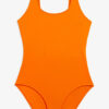 Deep back swimsuit - Orange