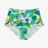 High-waisted bikini briefs - Green