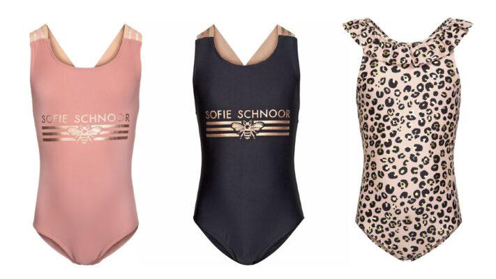 badedragt skolesvømning badedragt sart rosa badedragt petit by sofie schnoor til piger