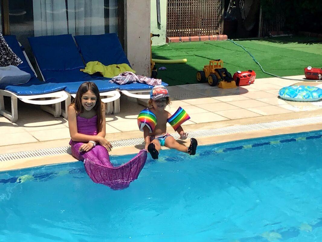 havfruehale lilla havfruehale til børn havfruehale til svømning