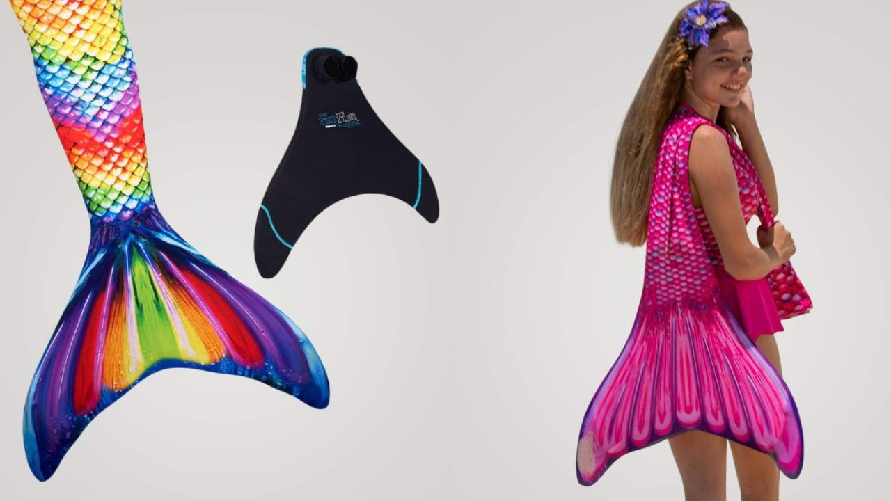 havfruehale til piger havfrue badetøj havfrue hale til svømning