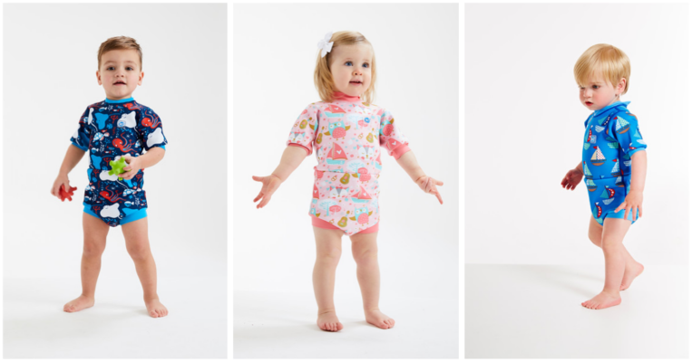 våddragt til baby heldragt badetøj baby UV våddragt baby Splash About våddragt babyvåddragt baby heldragt til svømning