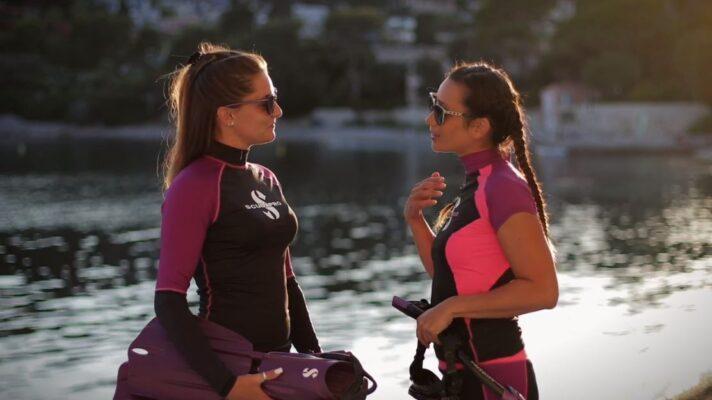 rashguard leggings kvinder sup vandsport leggings til sup kajak tøj badeklar UV trøje SUP snorkelbluse