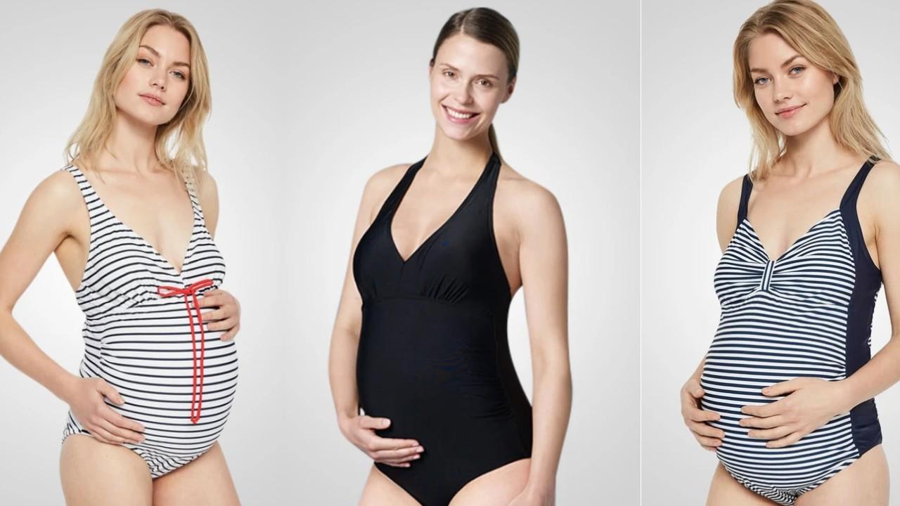 badetøj til gravid badedragt gravid billig ventebadedragt gravid badedragt stor størrelse