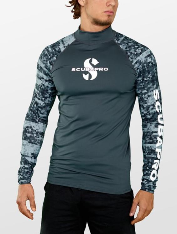 squbapro soltrøje til mænd UV t-shirt til herre SUP beklædning rashguard til vandsport lange ærmer
