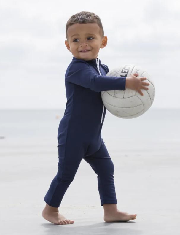 uv dragt til børn soldragt til børn marineblå soldragt dreng heldragt badetøj til dreng petit crabe soldragt til børn