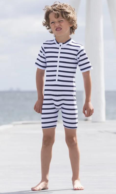 uv dragt til børn uv dragt dreng soldragt til dreng uv dragt petit crabe badedragt til drenge heldragt til drenge badetøj med striber