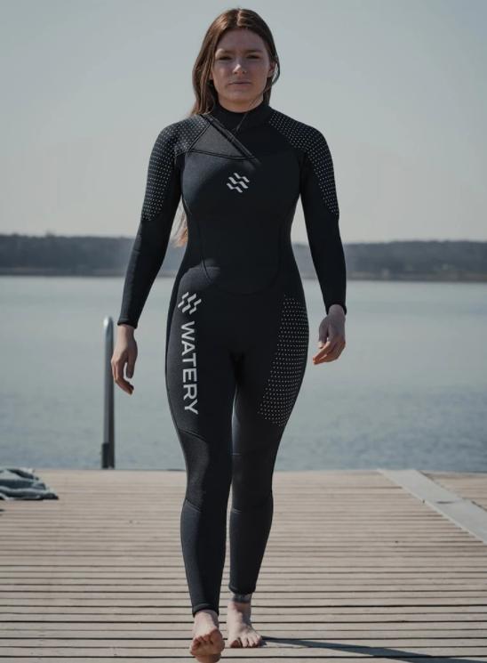 våddragt til kvinder billig våddragt 3 mm våddragt dame open water sort våddragt