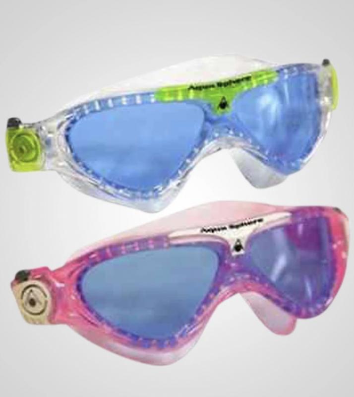 aqua sphere vista junior svømmebriller 6 år