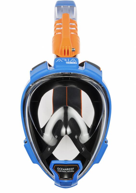 Ocean Reef Aria QR+ snorkelmaske luksus full face dykkermaske full face snorkel maske til voksne luksus