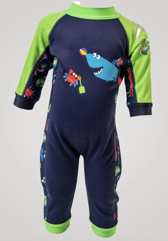 SplashyTM svømmedragt med e-flex våddragt drang baby badetøj baby heldragt UV dragt baby badetøj