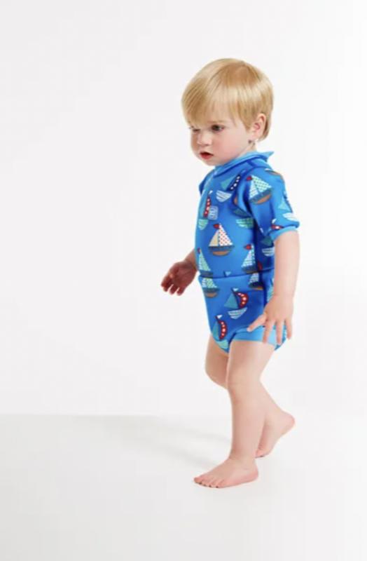 blebadedragt blevåddragt blebadetøj badetøj svømmehal baby heldragt med ble babydreng