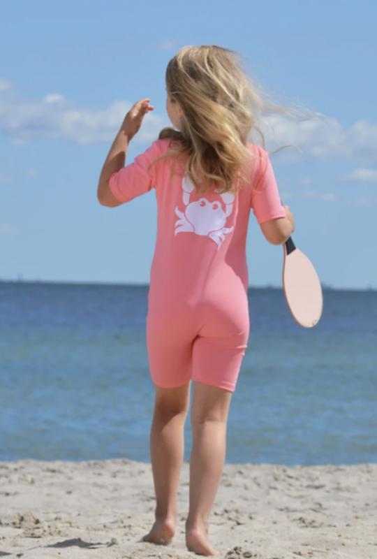 heldragt baby heldragt pige watermelon noe crab UV heldragt til pige badetøj til sart hud soldragt barn