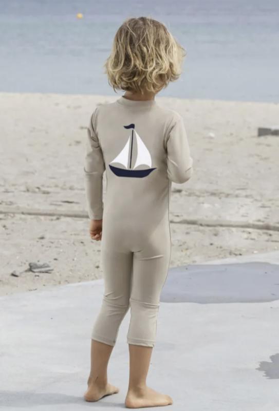 petit crabe uv heldragt til barn langærmet heldragt langærmet soldragt langærmet badetøj baby
