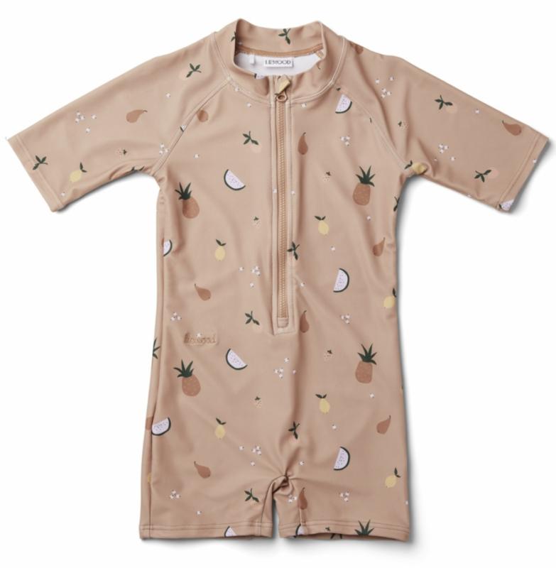 liewood soldragt liewood uv heldragt til baby badetøj baby heldragt badetøj barn