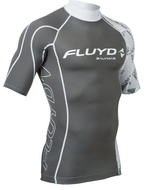 SALVIMAR RASHGUARD mand tøj til SUP t-shirt vandsport grå rashguard