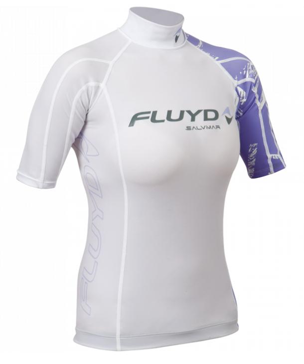 Salvimar rashguard til kvinder hvid rashguard t-shirt sup vandsport kajaktrøje hurtigtørrende t-shirt dame