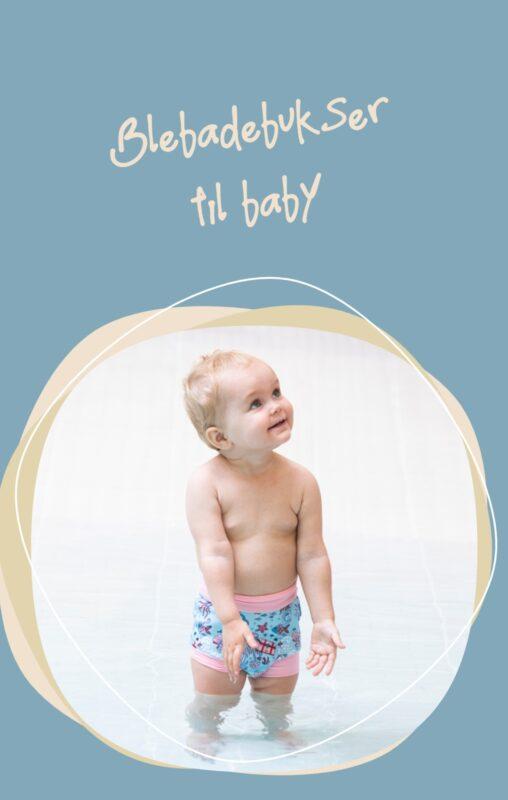 blebadebukser baby hidden treasure blebadebukser pige badetøj baby UV badetøj