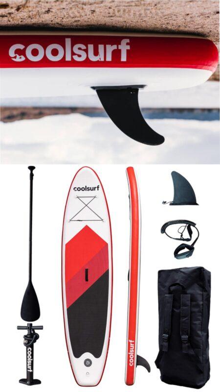 coolsurf sup tilbud padleboard tilbud sup tilbud paddle board startsæt udsalg oppusteligt paddleboard udsalg