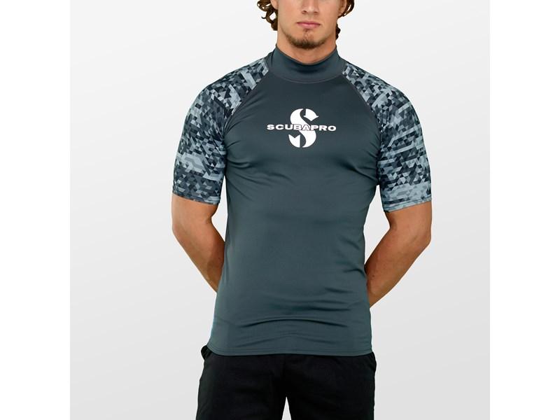 scubapro rashguard mand kortærmet SUP trøje vandsport bluse herre badeklar