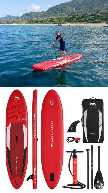 stort paddleboard tilbud SUP tilbud XL paddleboard udsalg padle board udsalg aqua marina