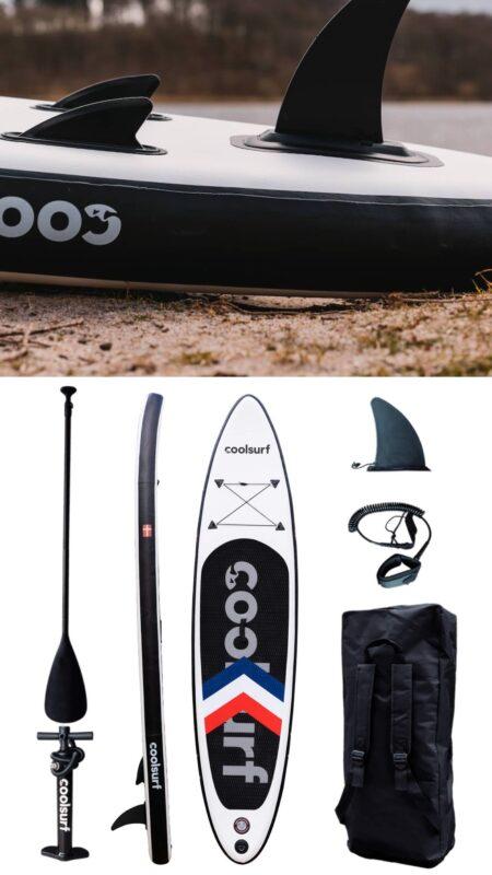 sup med 3 finner paddle board billig sup tilbud sup udsalg padleboard tilbud