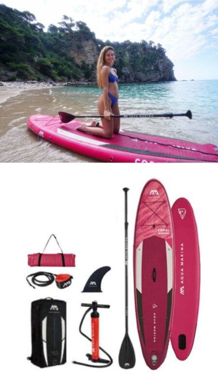 sup tilbud paddleboard tilbud padleboard tilbud AUP til kvinder oppustelig padleboard sæt udsalg
